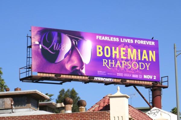 Bohemian Rhapsody movie billboard