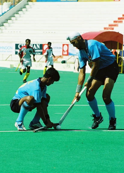 Hockey Drag Flick by Sandeep Singh