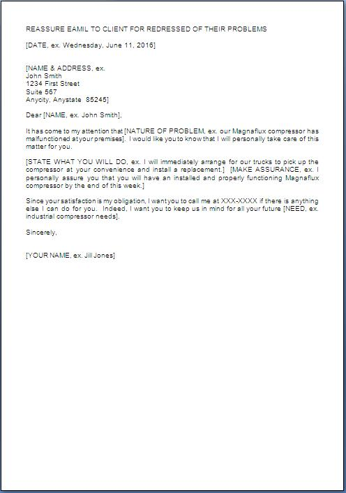 How To Write A Response Letter Format