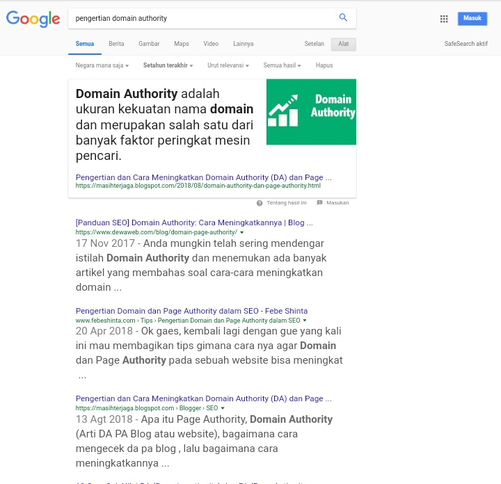 Trik Mendapatkan Featured Snippets dari Google