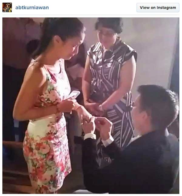 Heart Evangelista and Chiz Escudero engagement