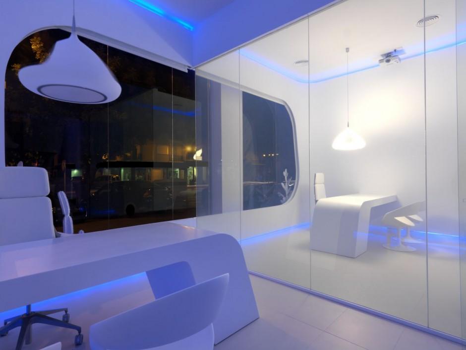 Oficinas de hidrosalud de cuartopensante arquitectura for Oficinas de diseno y arquitectura