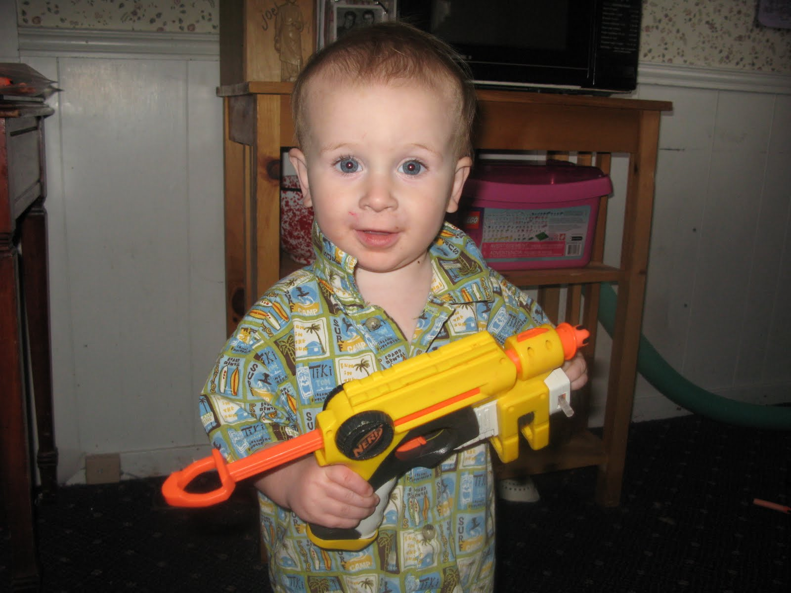 The Kerrie Show Kids and Toy Guns Yes or No