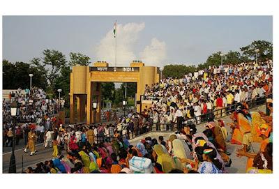 Wagah Border Images