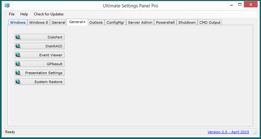 Ultimate Settings Panel Pro version 2.5 Released 6