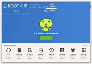 Cara Root Lenovo P70