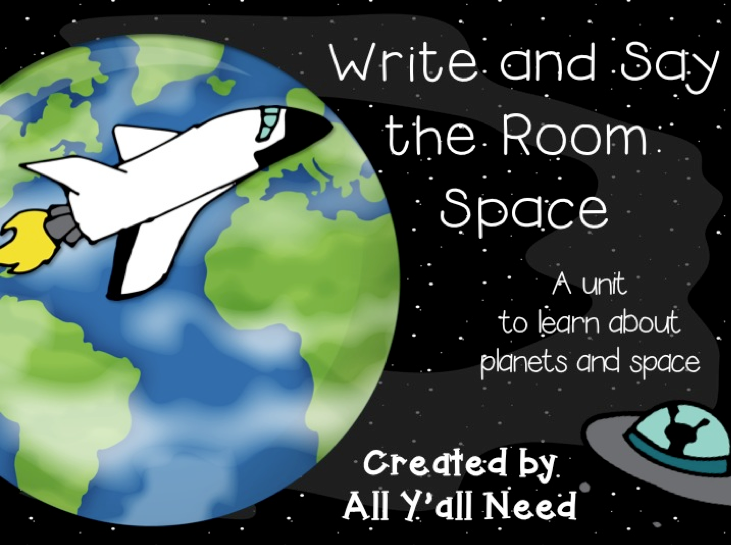 Write & Say the Room: Space by All Y'all Need