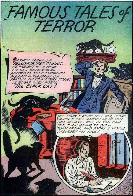 The black cat edgar allan poe thesis statement