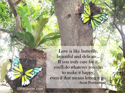 artificial  garden butterflies