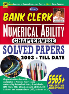 Kiran Publication Bank Clerk Numerical Ability Book pdf free Download
