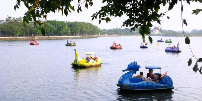 Sewa Mobil Jakarta ke Danau di Ibu Kota, Setu Babakan Jakarta Namanya