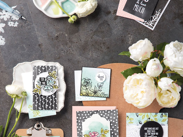 Stampin' Up! Watch It Wednesday Petal Passion Suite
