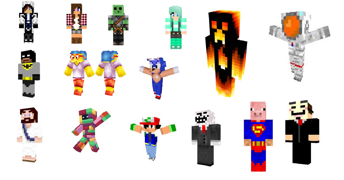 Minecraft: minecraft skins and mods
