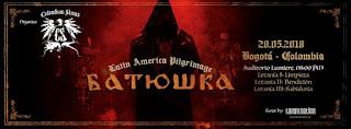 Concierto de BATUSHKA en Bogotá