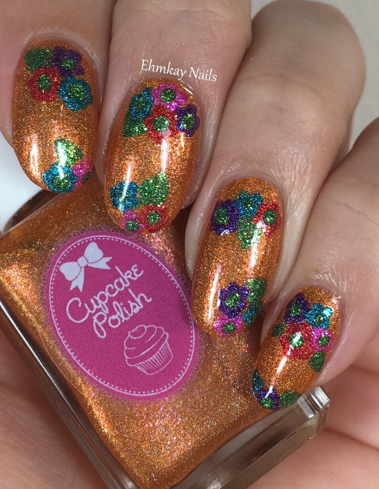 ehmkay nails: Cupcake Polish Luau Collection Hawaiian ...