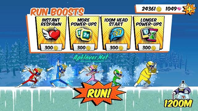 Run Run Super V MOD APK