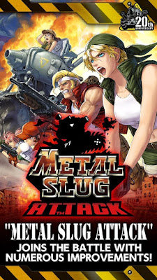 Download METAL SLUG ATTACK APK Mod Infinite AP Update Terbaru