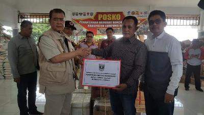Pemprov Sumatera Barat Beri 650 Kg Rendang Untuk Korban Tsunami Lamsel
