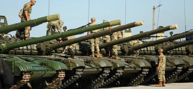 2015 року українська армія отримала близько 34 тисяч одиниць озброєння