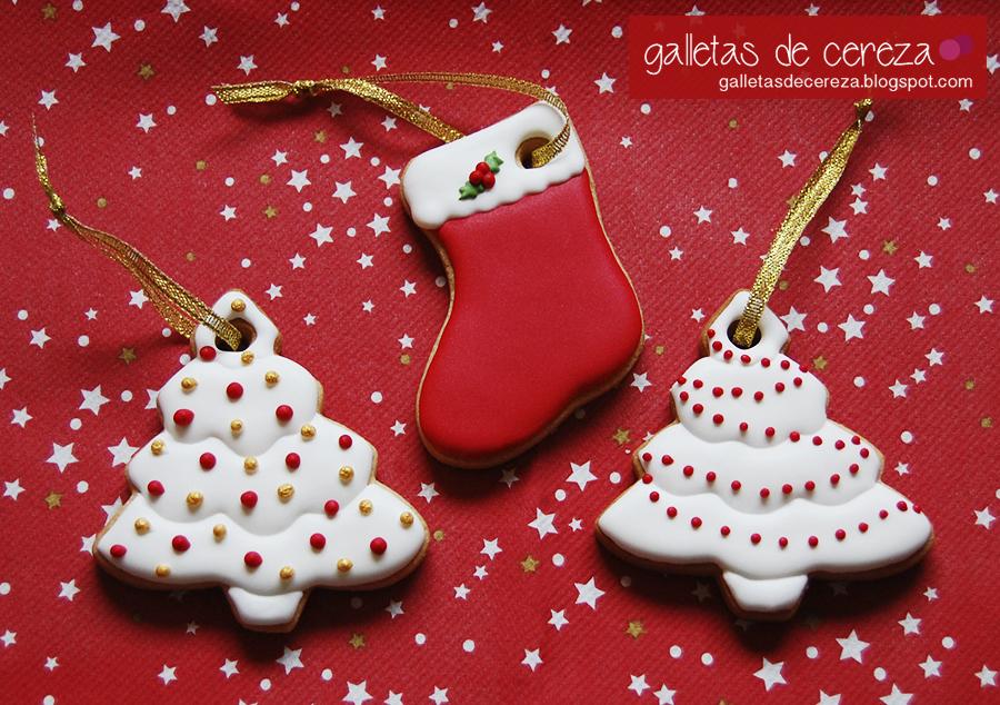 Decorar Galletas Navidad Con Glaseado