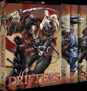 DRIFTERS Episodio 1 a 12. Bluray Ed. Coleccionistas
