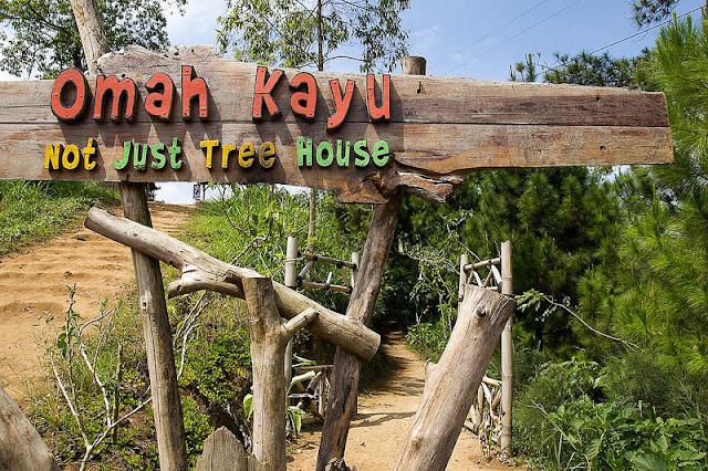 Omah Kayu di Batu Malang
