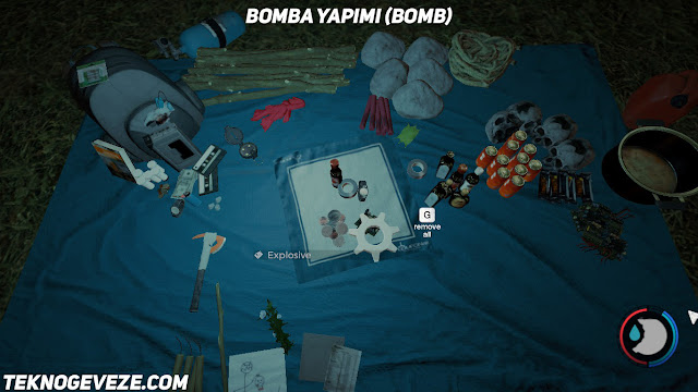 The forest bomba yapimi bomb