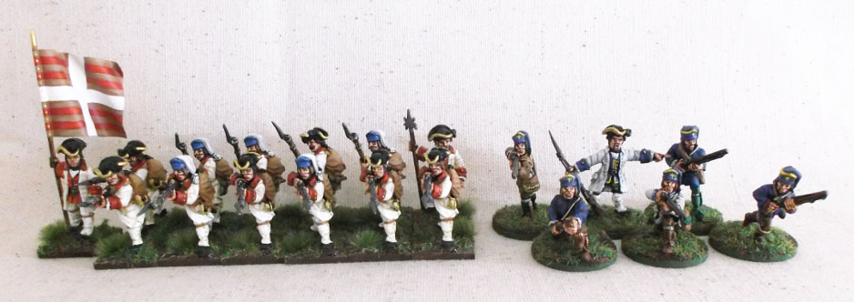 28mm Warlord games miniatures KGL 2nd Light Battalion