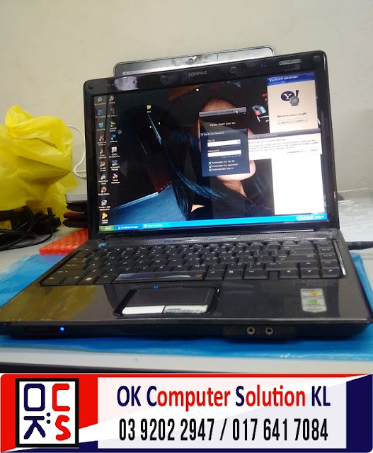 [SOLVED] HP COMPAQ V3000 TAK BOLEH ON | REPAIR LAPTOP CHERAS 1