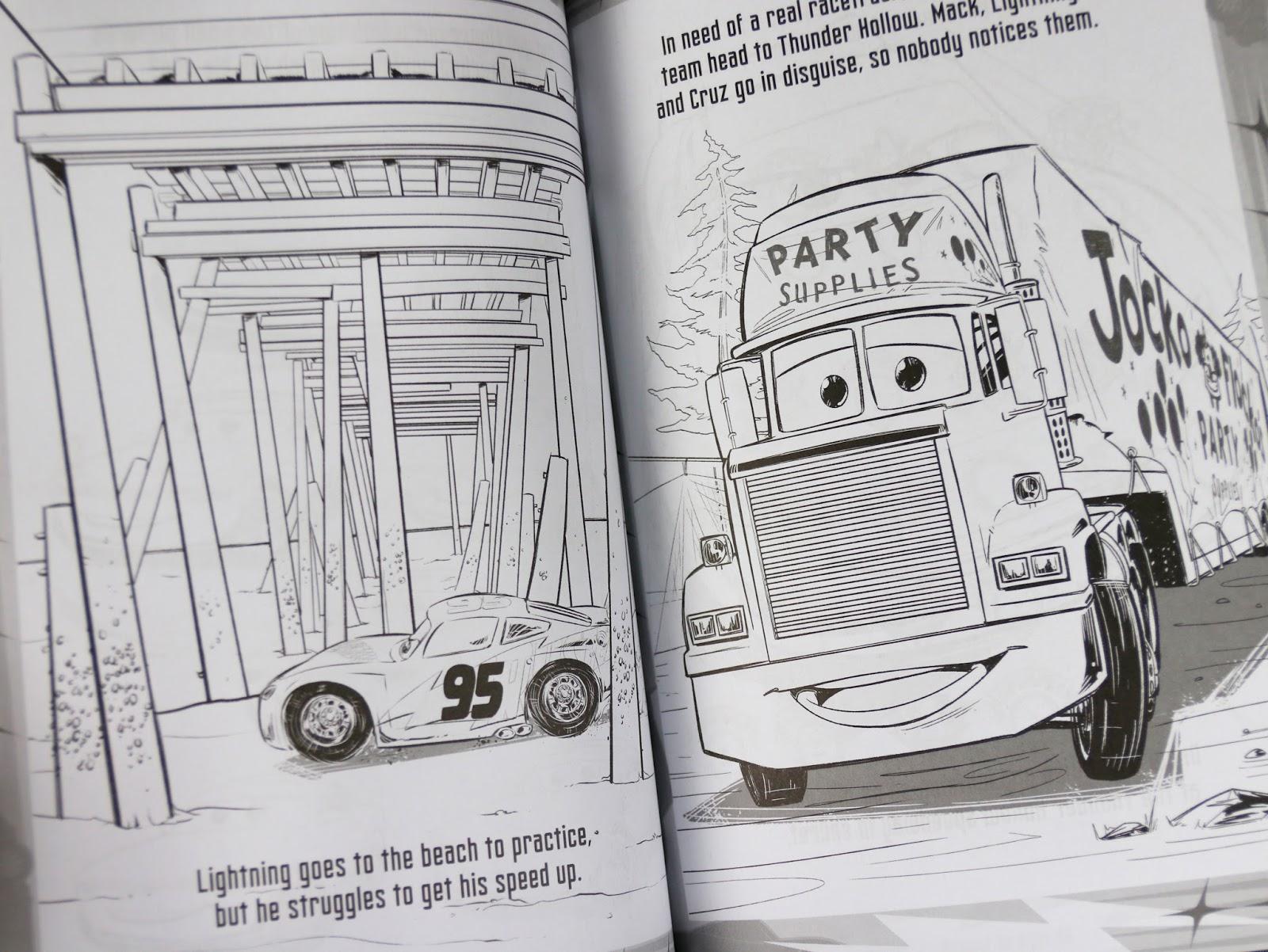 pixar cars 3 REV IT UP! COLOR ACTIVITY BOOK