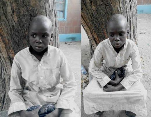 BOY BOKO HARAM SUICIDE BOMBER
