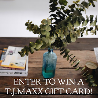Enter the T.J.Maxx Gift Card Giveaway. Ends 4/13