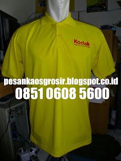 Buat Kaos Polo Shirt Bordir Murah
