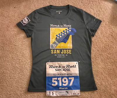 Rock'n'Roll San Jose Half Marathon 2017 shirt
