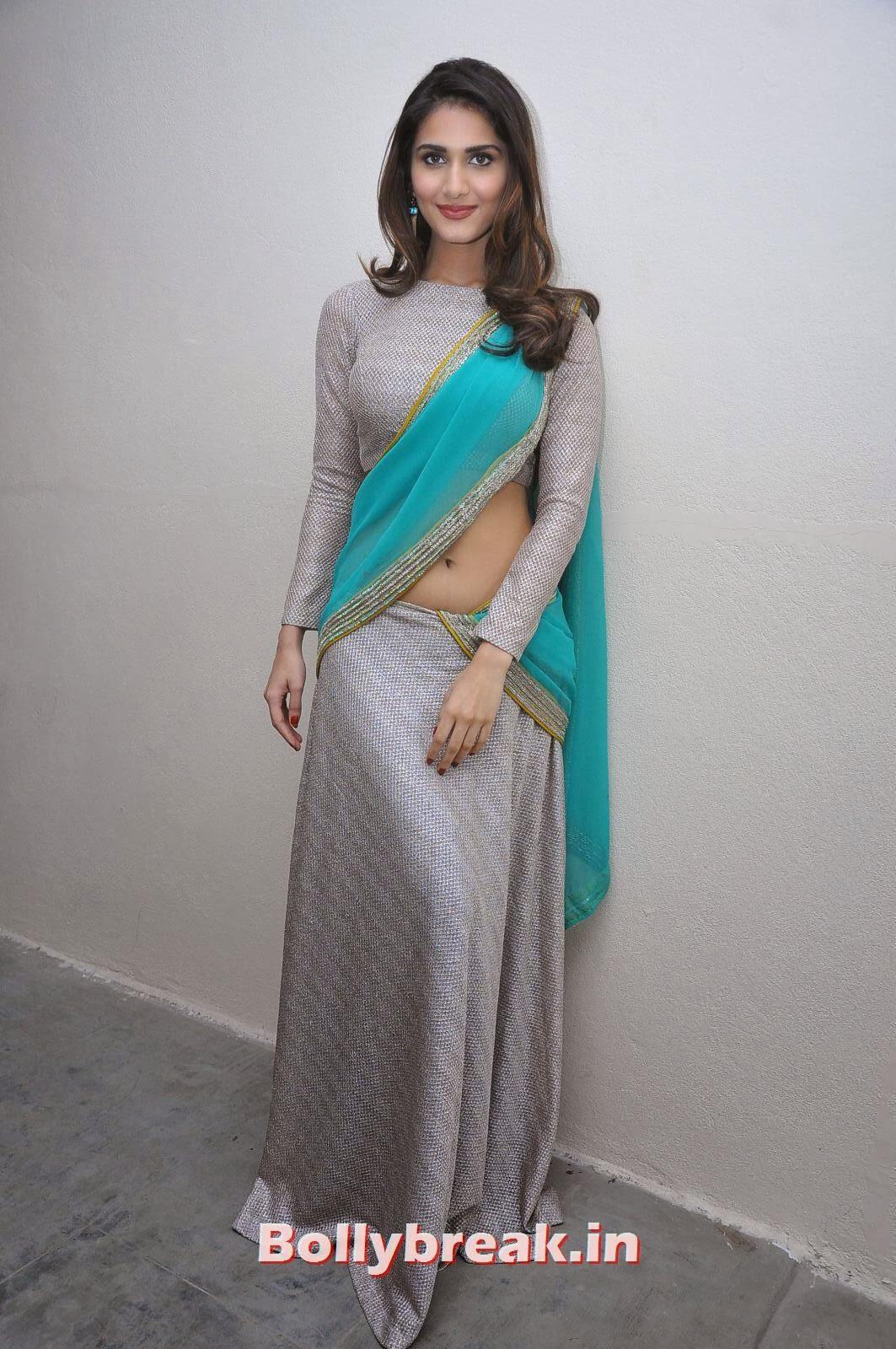 , Vaani Kapoor Images in Saree - Navel Photo Gallery
