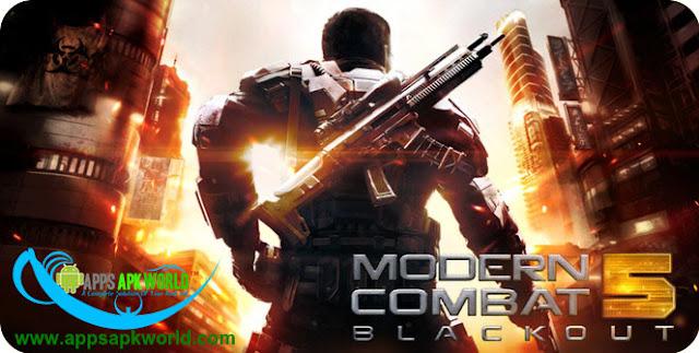 Modern Combat 5: Blackout Mod (Offline) image
