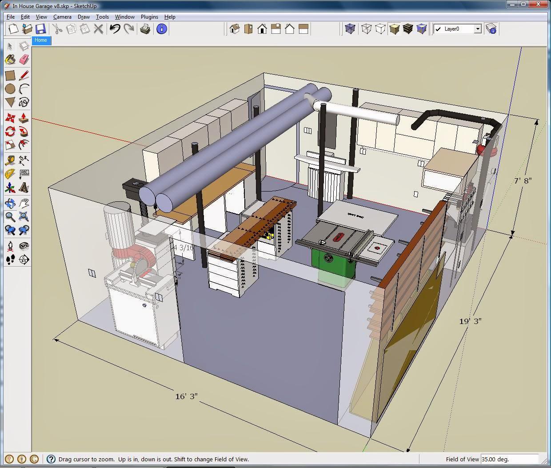 Multi Teknik Aplikasi Untuk Membuat Rancangan Rumah 3d