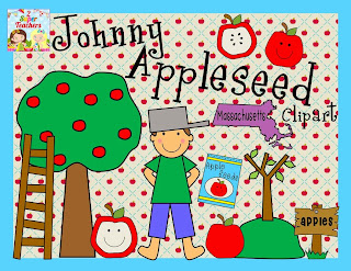 http://www.teacherspayteachers.com/Product/Johhny-Appleseed-Clipart-854565