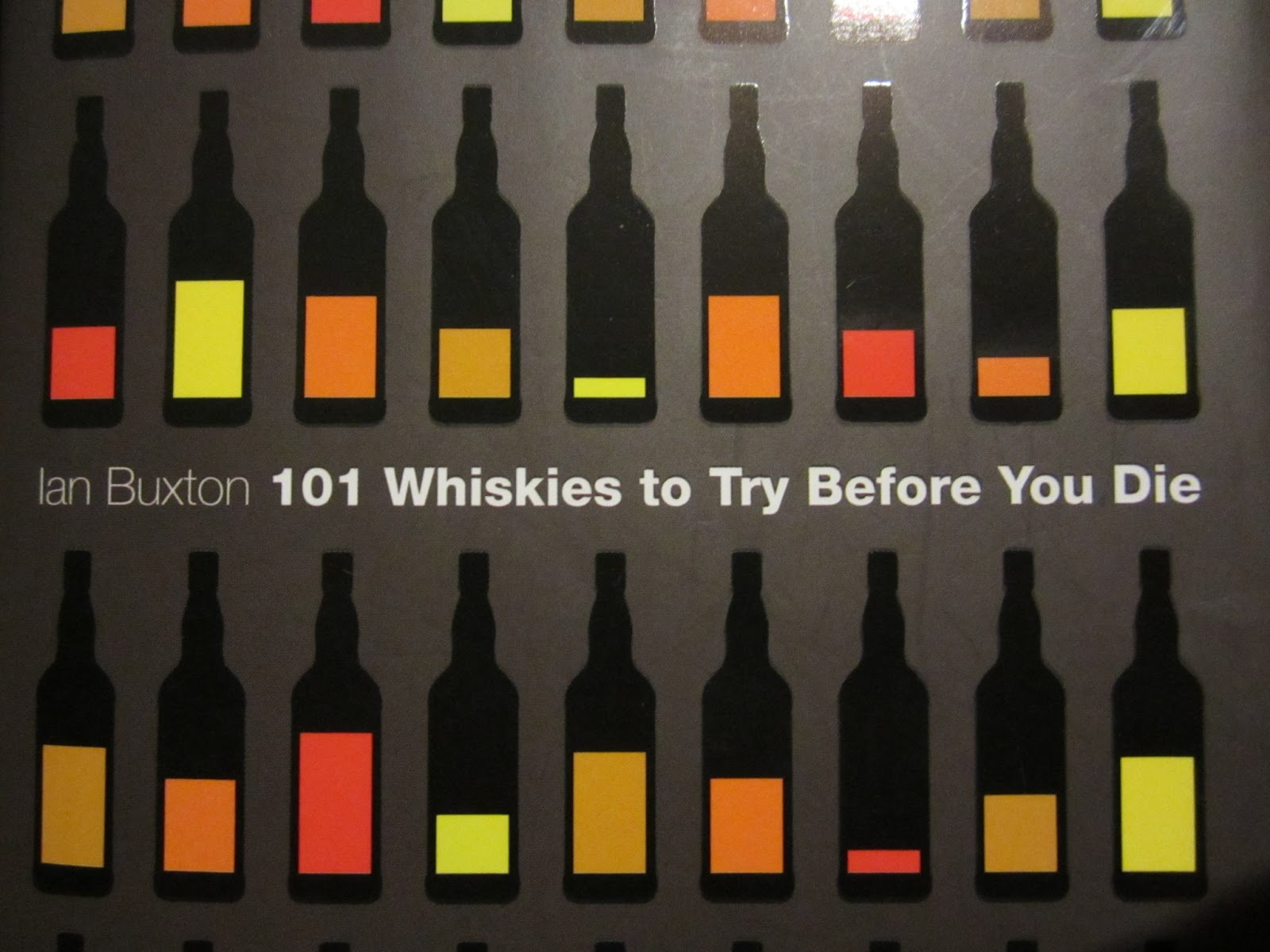 Book review; Ian Buxton's 101 Whiskies To Try Before You Die