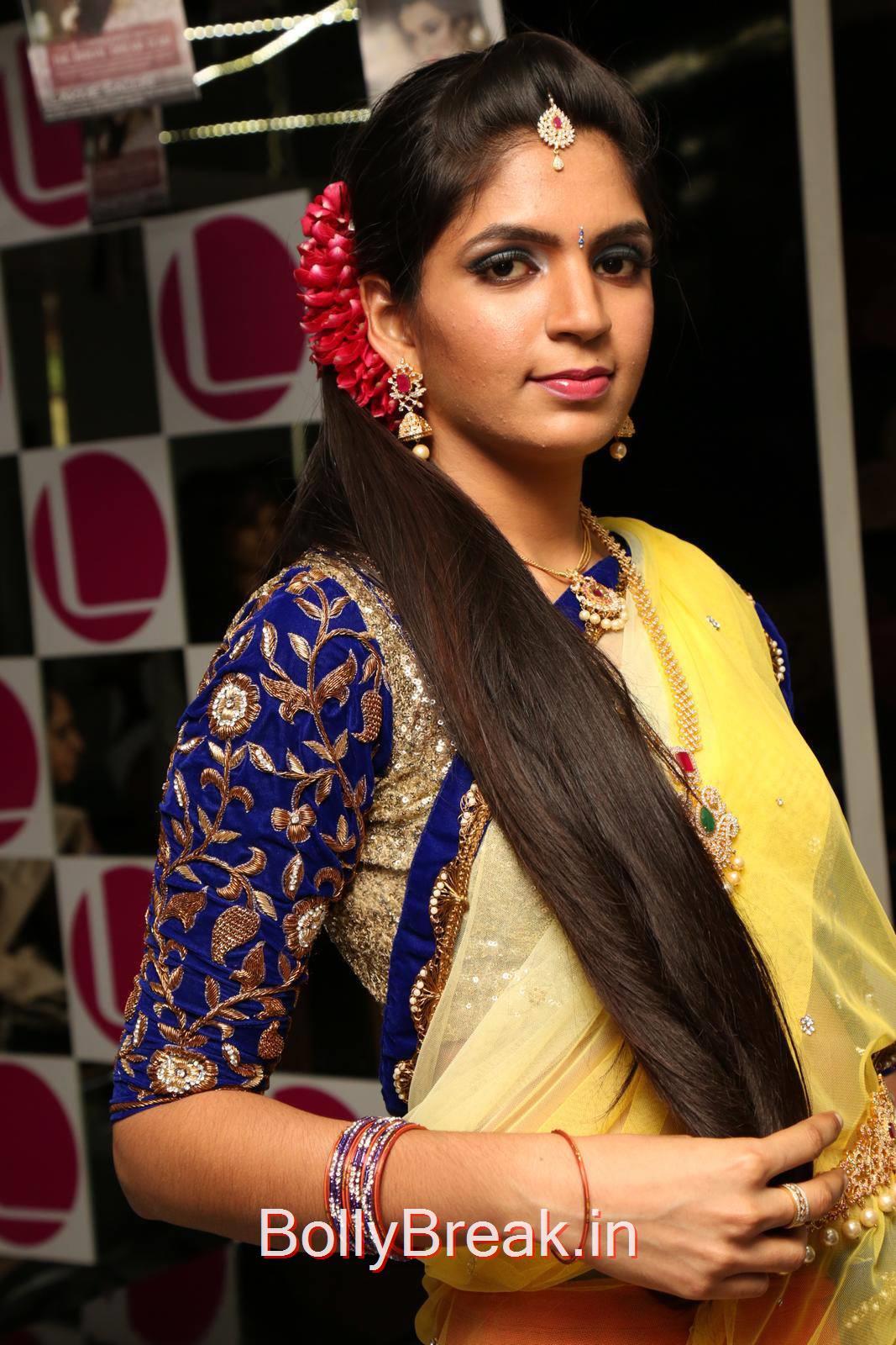 Anusha images, Anusha Hot Pics from Bridal Dream Make up At Lakme Salon