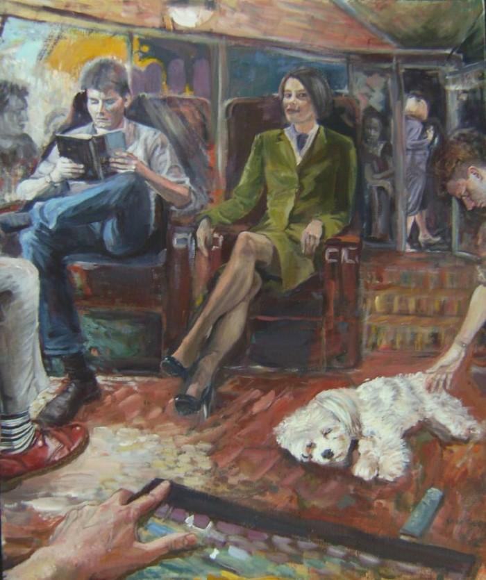 Британский художник. Samuel Burton