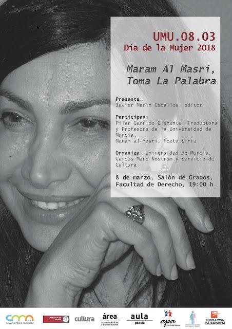 Recital de poesía bilingüe con motivo del Día Internacional de la Mujer