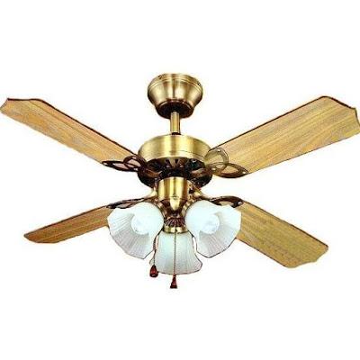 Por quer escolher ventilador de teto e não ar-condicionado