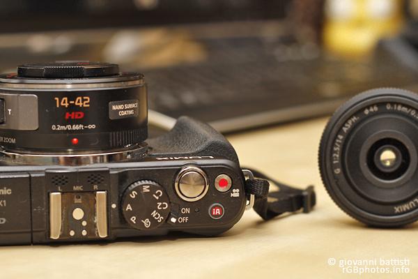 Fotografia della Panasonic GX1 con lo zoom G X Vario PZ 14-42mm f/3.5-5.6