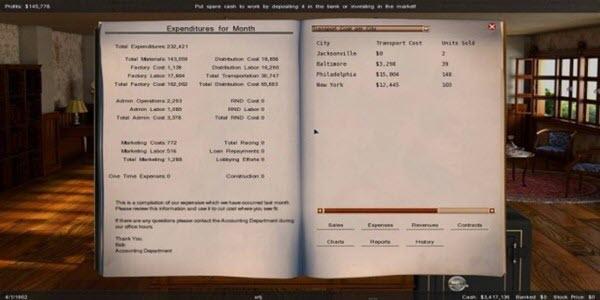 تنزيل لعبة GearCity