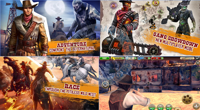Game Six Gun Gang Showdown Versi 2.9.0h Apk + Data obb Terbaru Foor Android