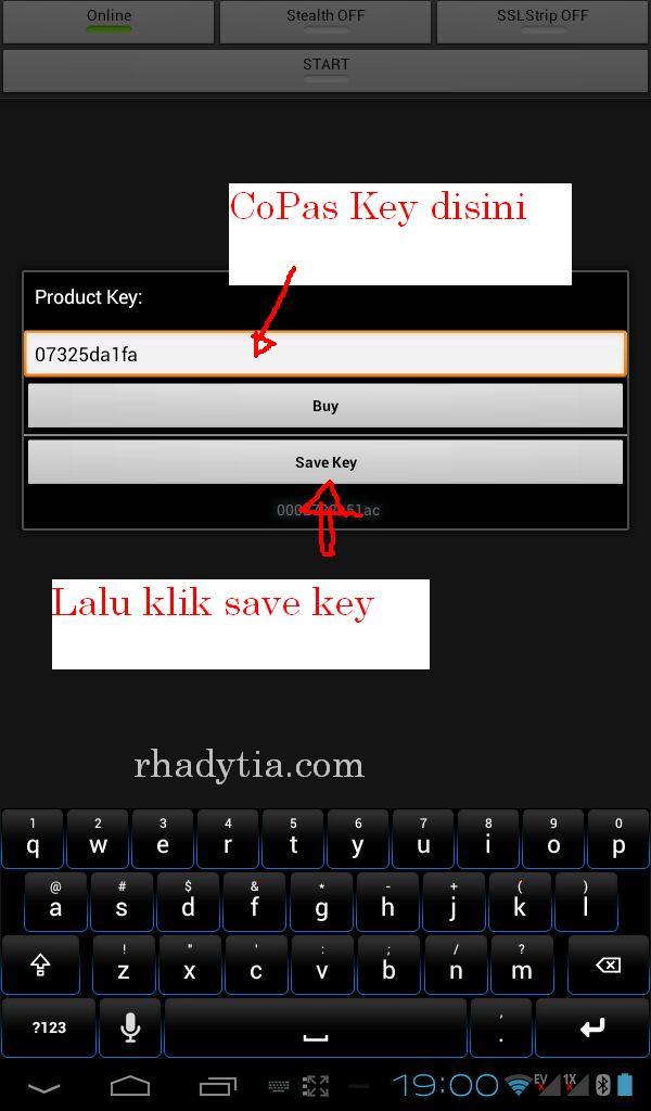 Faceniff serial key