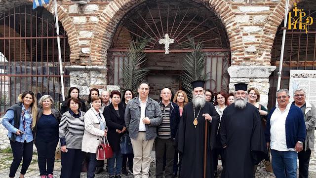 H ενορία της Ευαγγελιστρίας Ναυπλίου στην εορτή του Αγίου Θεράποντα στην Άρτα