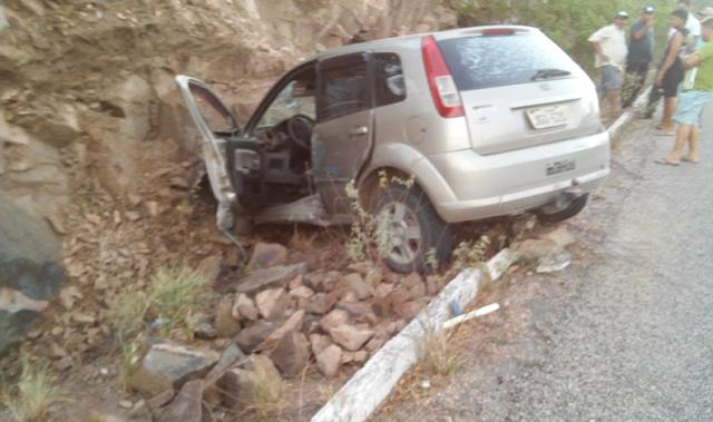 Em Piranhas, acidente grave é registrado na serra próximo ao Mirante da Chesf