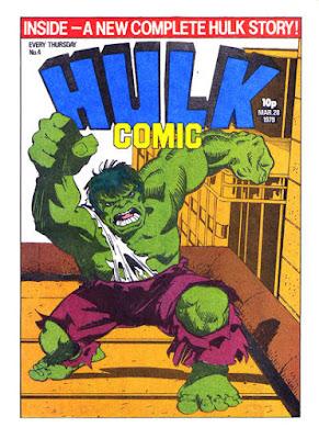 Hulk Comic #4, Walt Simonson